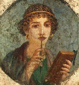 Saffo è stata una poetessa greca antica vissuta tra il VII e il VI secolo a.C. Di famiglia aristocratica, nacque a Ereso, nell'isola di Lesbo, dove trascorse la maggior parte della propria vita, attorno al 630 a.C. o al 626-623 a.C... Wikipedia