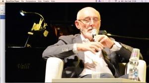 Paolo Rumiz il 2 settembre in Ancona alla Mole vanvitelliana