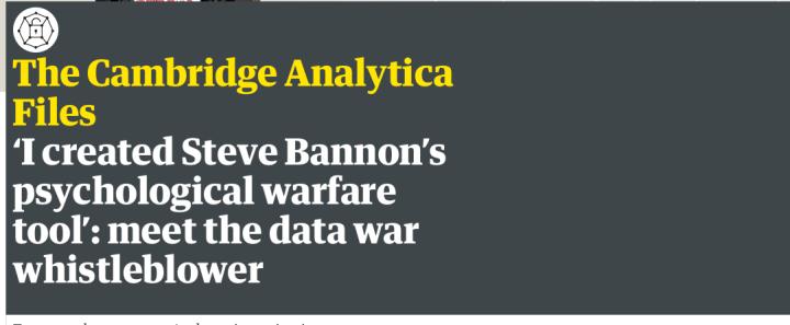 https://www.theguardian.com/news/2018/mar/17/data-war-whistleblower-christopher-wylie-faceook-nix-bannon-trump