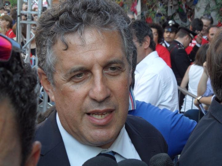 Nino Di Matteo il 19 luglio 2012 in via D' Amelio